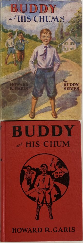 Buddy and His Chum, or a Boy's Queer Search; Dust jacket title: Buddy on Floating Island. The Buddy Series. Howard R. GARIS.