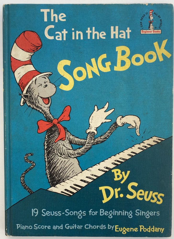 The Cat in the Hat Song Book. Eugene PODDANY Dr. SEUSS, piano, guitar score, Theodore GEISEL.