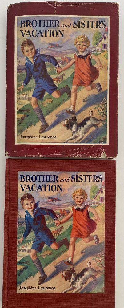 Brother and Sister's Vacation; Brother and Sister Series. Josephein LAWRENCE.