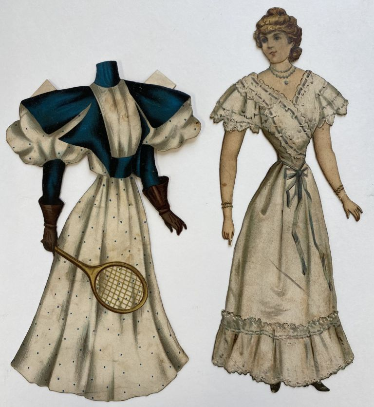 """Belle of Newport."" Artistic Series XIV, Blonde and Brunette Series of Dressing Dolls. Marguerite McDONALD."