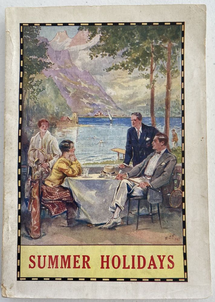 Summer Holidays 1931. Tours and Independent Travel Arrangements at Home and Abroad. Thomas COOK, Son.
