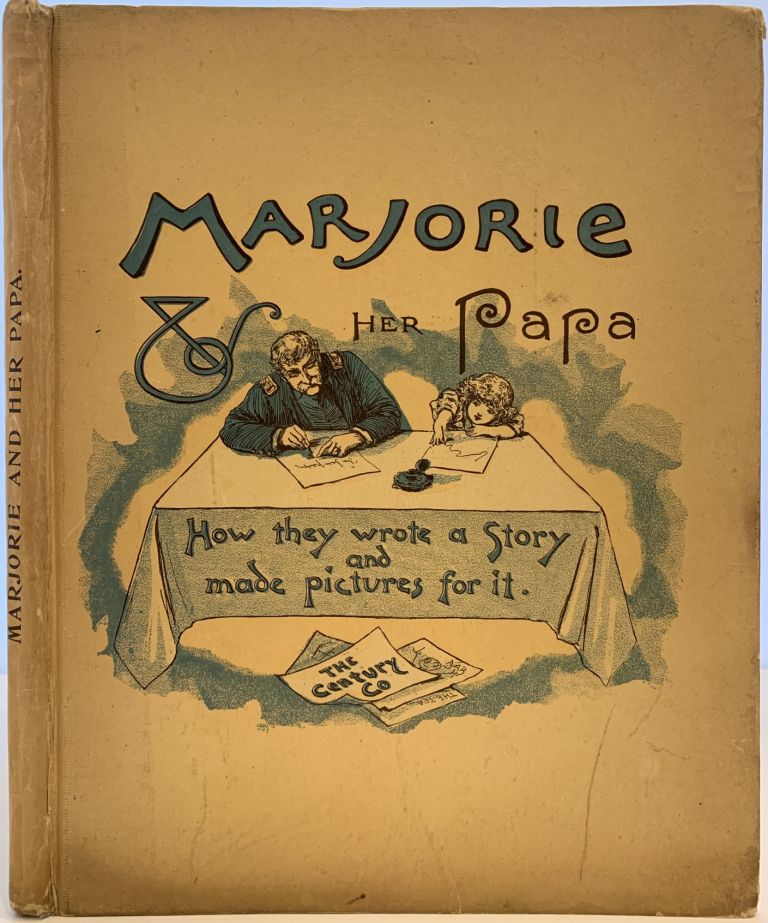Marjorie and Her Papa, How they wrote a Story and made pictures for it. Robert Howe FLETCHER.