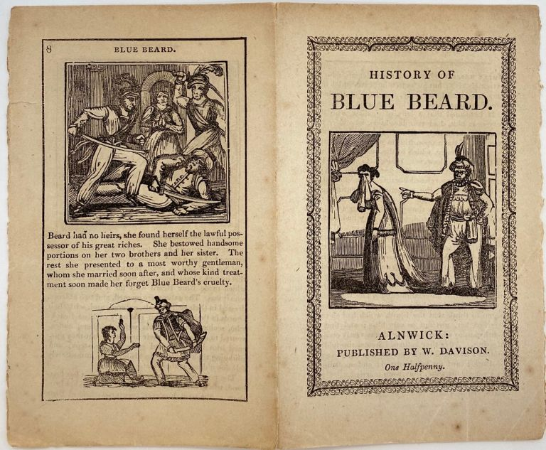 History of Blue Beard. ANONYMOUS.