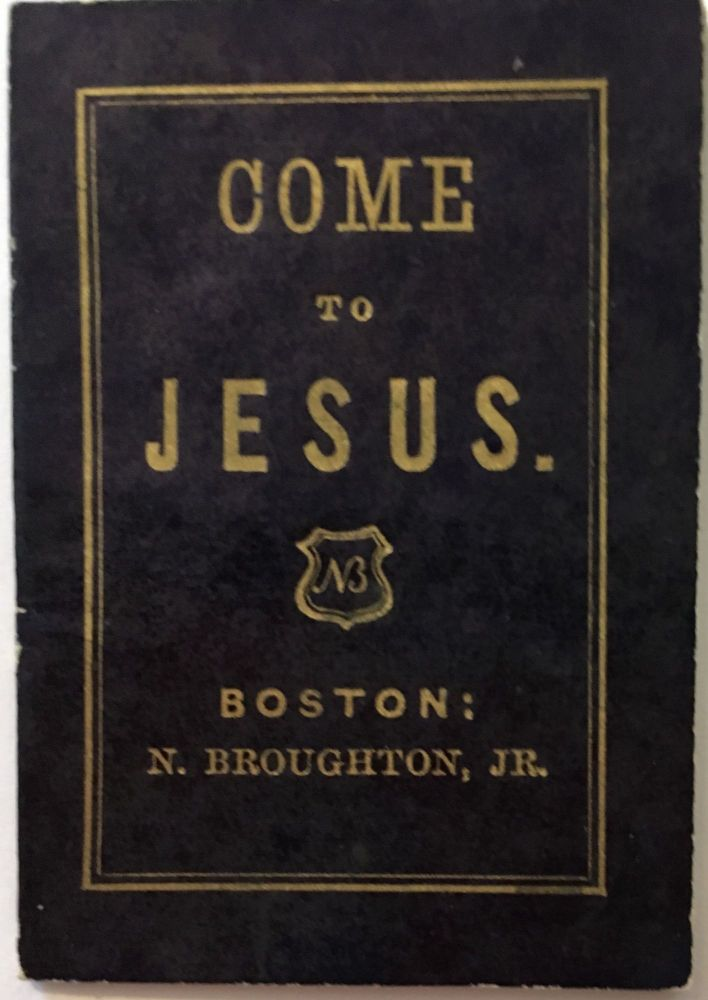 Come to Jesus. ANONYMOUS.