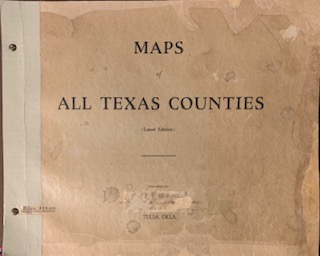 Maps of All Texas Counties (Latest Edition). Austin General Land Office, Texas.