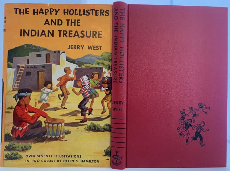 The Happy Hollisters and the Indian Treasure, The Happy Hollisters Series of Books. Jerry WEST.