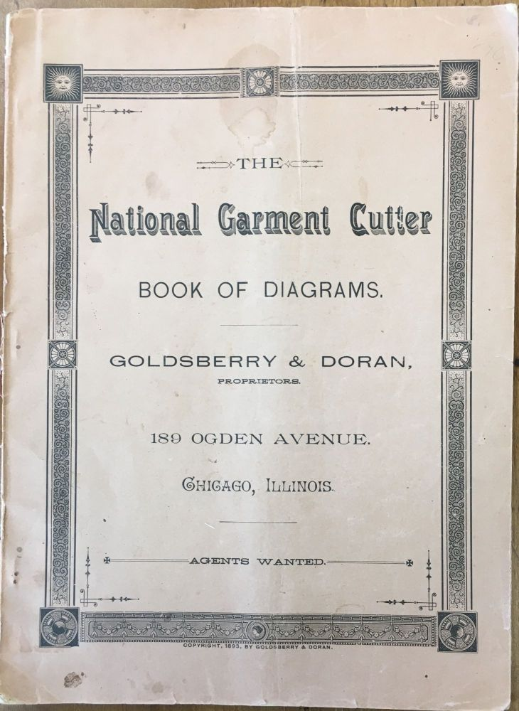 The National Garment Cutter Book of Diagrams. GOLDSBERRY, DORAN.