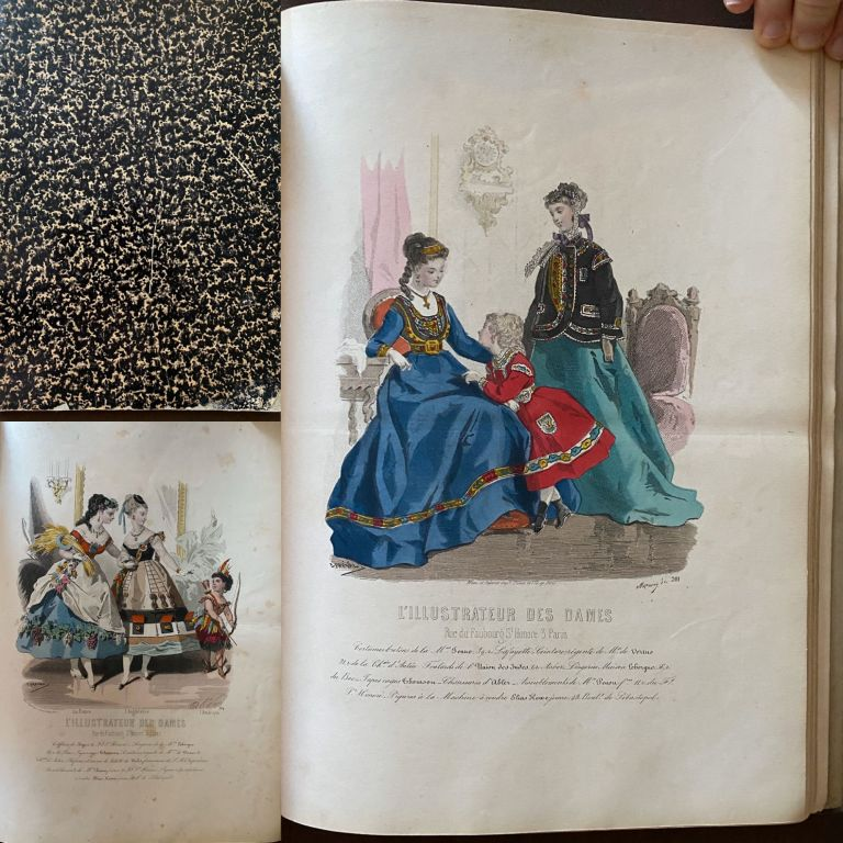 Portfolio of French Fashion Plates: L'Illustrateur des Dames