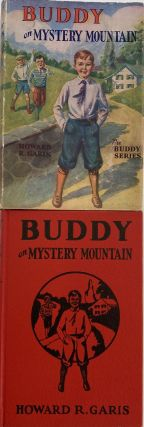 Buddy on Mystery Mountain, or a Boy's Strange Discovery; Dust jacket title: Buddy at Mystery...
