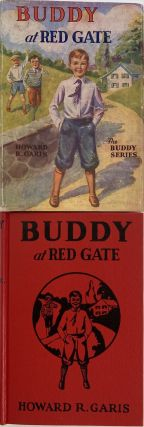 Buddy at Red Gate, or A Boy on a Chicken Farm; Dust jacket title: Buddy at Red Gate. The Buddy...