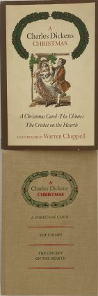 A Charles Dickens Christmas: A Christmas Carol, The Chimes, The Cricket on the Hearth. Charles...