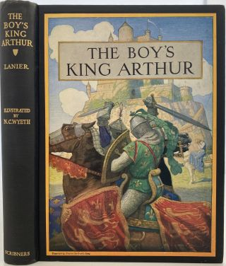 The Boy's King Arthur. Sir Thomas Malory's History of King Arthur and His Knights of the...