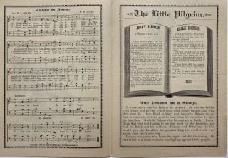 """Collection of """"Little Pilgrim Lesson Paper"""""""