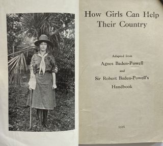 How Girls Can Help Their Country; Adapted from Agnes Baden-Powell and Sir Robert Baden-Powell's Handbook
