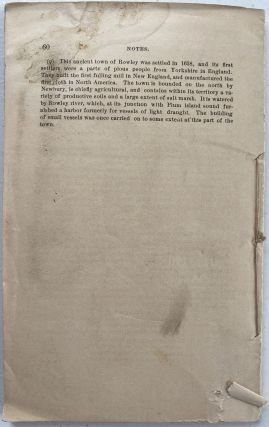 Mineral Deposits in Essex County Massachusetts, Especially in Newbury and Newburyport with Map and Notes; Map title: Map of Mining Lands at Newbury and Newburyport, Essex County, Massachusetts