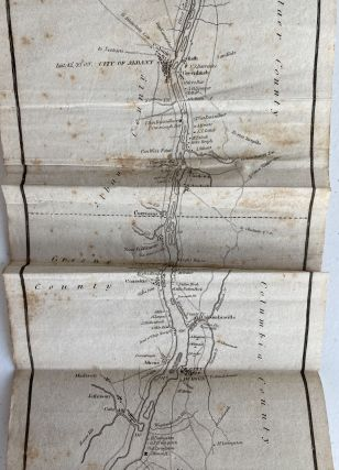 The Tourist, or Pocket Manual for Travellers on the Hudson River, The Western Canal and Stage Road to Niagara Falls Down Lake Ontario and the St. Lawrence to Montreal and Quebec. Comprising Also the Routes to Lebanon, Ballston, and Saratoga Springs. Third Edition, Enlarged and Improved; Cover title: The Tourist for 1834
