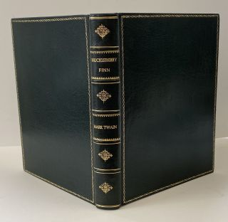 The Adventures of Huckleberry Finn (Tom Sawyer's Comrade) with FORE-EDGE PAINTINGS