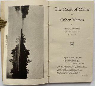 The Coast of Maine and Other Verse, with Illustrations by the Author