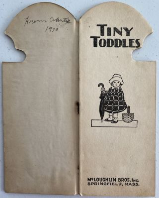 Tiny Toddles; The Toddles Girls' Series