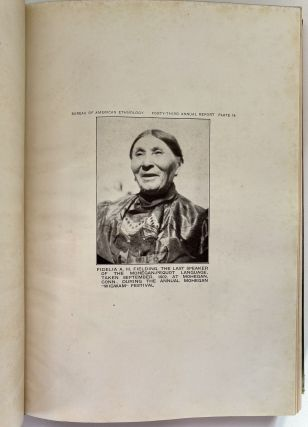 Forty-Third Annual Report of the Bureau of American Ethnology to the Secretary of the Smithsonian Institution 1925-1926