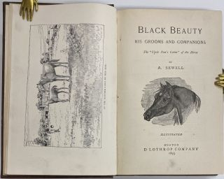 """Black Beauty, His Grooms and Companions. ALONG WITH: Our Gold Mine at Hollyhurst., Gold Mine Series No. 1, Sequel to """"Black Beauty."""""""