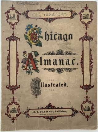 Chicago Almanac 1874. ANONYMOUS