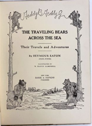 The Traveling Bears Across the Sea, Their Travels and Adventures.