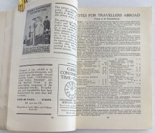 Summer Holidays 1931. Tours and Independent Travel Arrangements at Home and Abroad