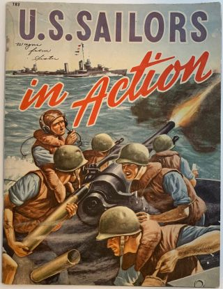 U.S. Sailors in Action, A Fact Story of Naval Warfare in the Pacific. Roy J. SNELL