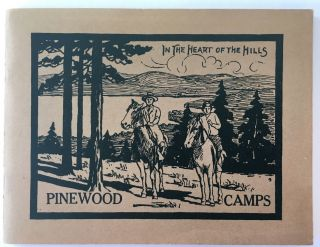 Pinewood Camps, Inc., For Adults, Near lake Anasagunticook; In the Heart of the Oxford Hills;...