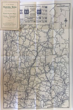 Rand McNally Junior Auto Trails Map, New Hampshire, Vermont; Wrapper title: A trip through...