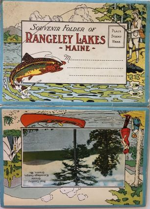 Souvenir Folder of Rangeley Lakes, Maine