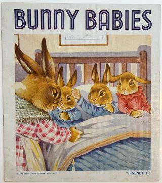 "Bunny Babies, ''Linenette"", No. 443. ANONYMOUS"