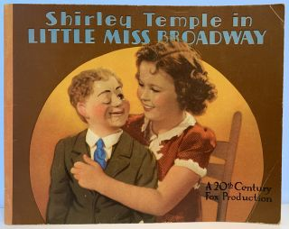 Shirley Temple in Little Miss Broadway. Darryl F. ZANUCK, production, Harry TUGEND, screen play...
