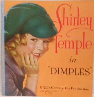 "Shirley Temple in ""Dimples"" Darryl F. ZANUCK, production, associate producer Nunnally JOHNSON,..."
