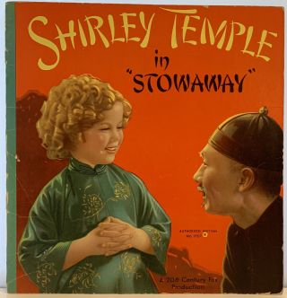 "Shirley Temple in ""Stowaway"" Sam. William A. SEITER ENGEL, director, Arthur SHEEKMAN William..."