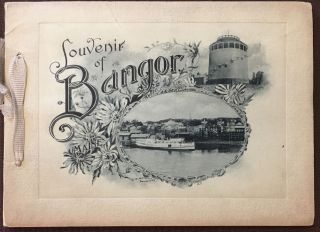 Souvenir of...Bangor, ME..., Photo-gravures. ANONYMOUS