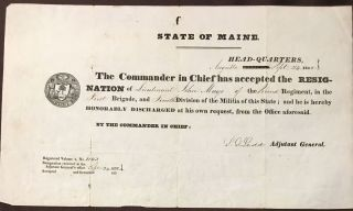 State of Maine [Honorable Discharge