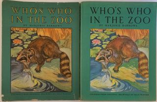 Who's Who in the Zoo, Descriptive Stories of Animal Life. Marjorie BARROWS