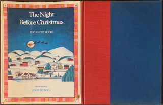 The Night Before Christmas. Clement MOORE