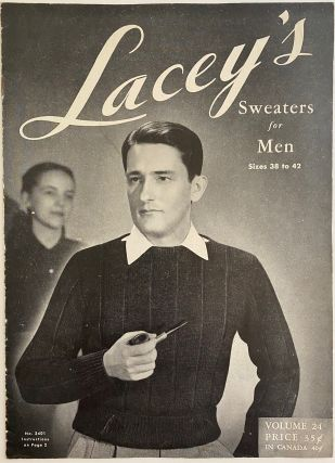 Lacey's Sweaters for Men, Sizes 38 to 42, Volume 24, Revised Edition