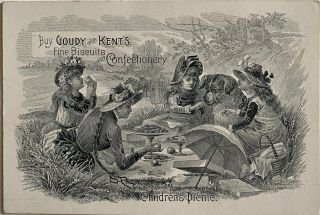 Buy Goudy and Kent's Find Biscuits and Confectionery for the Children's Picnic
