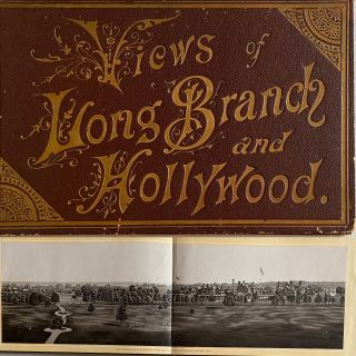 Views of Long Branch and Hollywood [New Jersey]. CHAS. FREY Original Souvenir Albums