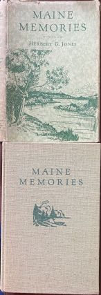 Maine Memories. LIttle-Known Stories about a Well-Known State. Herbert G. JONES