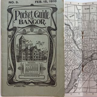 Pocket Guide for Bangor, No. 3, Feb. 15, 1910. ANONYMOUS
