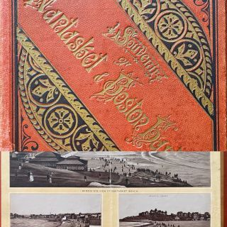 Souvenir of Nantasket & Boston Harbor. J. F. MURPHY, Mass, Boston, O. C. Deport