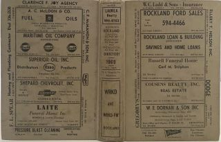 Manning's Rockland, Camden, Rockport, and Thomaston (Knox County, Maine) Directory 1969,...