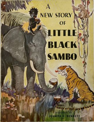 A New Story of Little Black Sambo, No. W-957. Helen BANNERMAN
