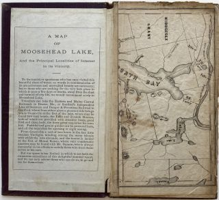 Map of Moosehead Lake, Maine.; Case title: Map of Moosehead Lake, Maine. Pastedown title: A Map of Moosehead Lake, And the Principal Localities of Interest in its Vicinity