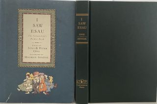 I Saw Esau. The Schoolchild's Pocket Book. Iona and Peter OPIE